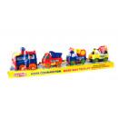 Großhandel Spielwaren:Batteriebetriebener Akku + 38x7x10 Autos