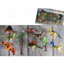 ingrosso Ufficio: Set di dinosauri in una scatola di 47x24x6 cm