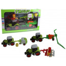 Farmkészlet - traktor + 3 gép 45x2-es dobozban