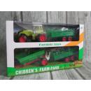 Farmer-speelgoed is 41x25x11 cm lang