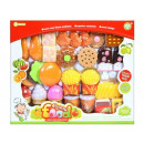 Fast food kitchen set, sweets funny food wk
