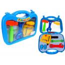 Großhandel Spielwaren: Ein kleiner Bastler-Set im Koffer 27x22 cm