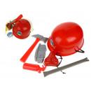 mayorista Accesorios para automóviles: Conjunto de un pequeño bombero + casco en cuadrícu
