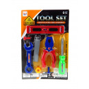 wholesale Garden & DIY store: Tool set on the blister 8 element tool set 30x
