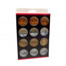 wholesale Manicure & Pedicure: Set of nail decorations, palette 12x9 cm