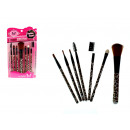 wholesale Make-up Accessoires: Set of cosmetic brushes 7 piece