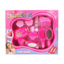wholesale Toys: Beauty set with lipstick in a beauty girl carton