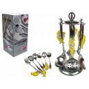 wholesale Kitchen Utensils: Set of kitchen utensils 7 element on a stand
