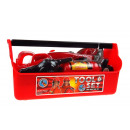 wholesale Toys: Fireman's set in a toolbox set 26x13,5x12 cm