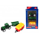 Tractor set + 2 tools in carton 19x farmer