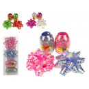Gift ribbon set 10 m + 2 bows 7 cm from