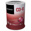 CD-R 80 Sony 48x 100pcs Cakebox 100CDQ80SP