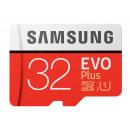 MicroSDHC 32GB Samsung + SDHC Adapter CL10 EVO Plu