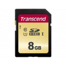 Transcend SD Card 8GB SDHC SDC500S 95 / 60MB / s T