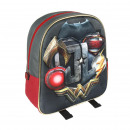 CHILD BACKPACK 3D JUSTICE LEAGUE