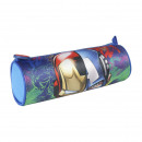 wholesale School Supplies: AVENGERS - multi functional case cylindrical, blue