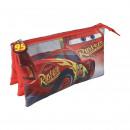 Cars 3 - Multifunktionskoffer flach 3 Taschen, rot