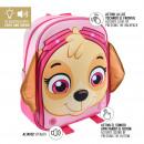 Paw Patrol - mochila luces infantiles, rosa