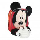 MICKEY - backpack nursery character, red