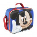 MICKEY - lunch bag 3d thermal lunchbag, blue