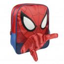 Spiderman - mochila de personaje infantil, rojo