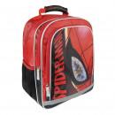 SPIDERMAN - backpack school premium, red