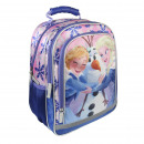FROZEN - backpack school premium, blue