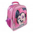 mayorista Regalos y papeleria: Minnie - mochila escolar premium, rosa