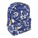 mayorista Regalos y papeleria: Mickey - mochila escolar secundaria, azul