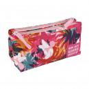 Großhandel Schulbedarf: Minnie - Multifunktionskoffer flach 2 Taschen, Pin