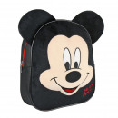 MICKEY - kids backpack character, black