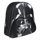 Star Wars - mochila guardería 3d, negro