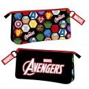 Avengers - Multifunktionskoffer flach 3 Taschen,