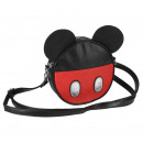 MICKEY - handbag shoulder strap faux-leather, blac