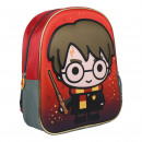 HARRY POTTER - Rucksack Kindergarten 3d, rot