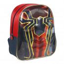 Spiderman - mochila guardería 3d, rojo