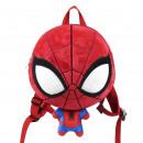 SPIDERMAN - backpack kindergarten 3d, red