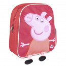 PEPPA PIG - backpack nursery character, red