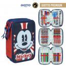 MICKEY - filled pencil case triple giotto premium,
