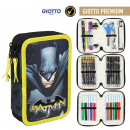 wholesale Gifts & Stationery: BATMAN - filled pencil case triple giotto premium,