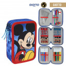 wholesale Licensed Products: MICKEY - filled pencil case triple giotto, blue