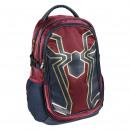 Spiderman - mochila de viaje informal, burdeos