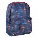 Star Wars - mochila escolar secundaria, azul