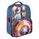 groothandel Licentie artikelen: Avengers - 3d rugzakschool, blauw