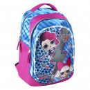 LOL - Mochila casual luces, rosa