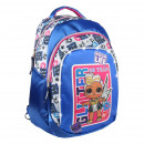 LOL - backpack casual luces, blue
