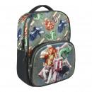 HARRY POTTER - sac à dos école 3d Poudlard, gris
