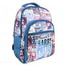 HARRY POTTER - sac à dos école, bleu