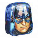 CHILD BACKPACK 3D Avengers CAPITAN AMERICA