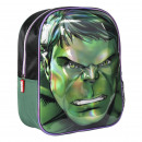 wholesale Licensed Products: AVENGERS - backpack nursery 3d hulk, green